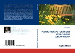 PSYCHOTHERAPY FOR PEOPLE WITH CHRONIC SCHIZOPHRENIA