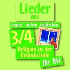 3./4. Jahrgangsstufe, Lieder, 1 Audio-CD / fragen - suchen - entdecken, Ausgabe Baden-Württemberg - Herausgeber: Ort, Barbara Rendle, Ludwig