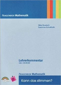Fragenbox Mathematik. Kartei inkl. Lehrerkommentar + CD