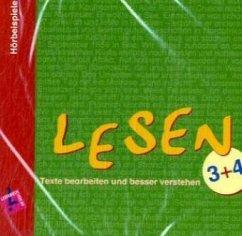 3./4. Schuljahr, 1 Audio-CD / Lesen, Texte bearbeiten und besser verstehen - Druschky, Petra Knoll, Carla