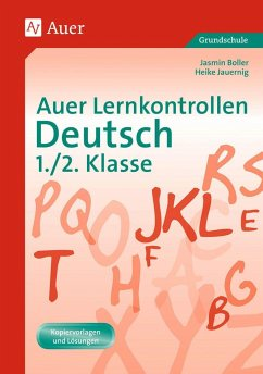 Auer Lernkontrollen Deutsch 1./2. Klasse - Grotegut, Jasmin; Jauernig, Heike