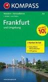 KOMPASS Wanderkarte Frankfurt und Umgebung