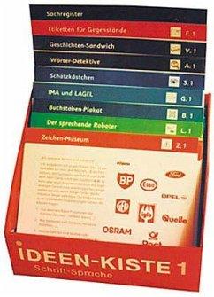 Ideen-Kiste 1. Unterrichtsideen zum Lesen- und Schreibenlernen. 1. Schuljahr. Kartei für Lehrer - Brinkmann, Erika; Brügelmann, Hans