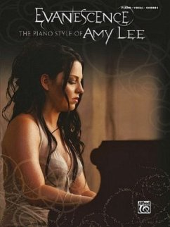 The Piano Style of Amy Lee, piano/vocal/chords