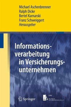 Informationsverarbeitung in Versicherungsunternehmen