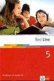 Red Line 5. Workbook mit Audio-CD