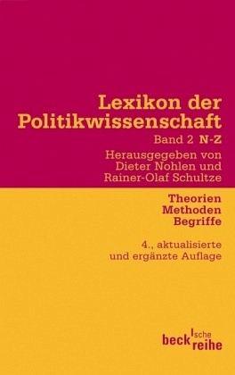 Lexikon der Politikwissenschaft 2 / N-Z