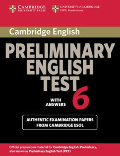 Cambridge Preliminary English Test 6. Student's Book with answers