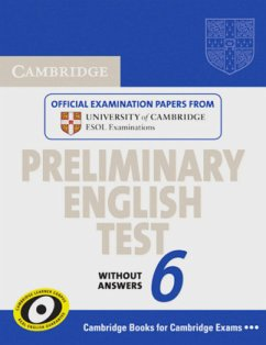 Student's Book without answers / Cambridge Preliminary English Test, New Edition Vol.6