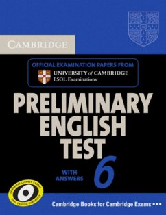 Student's Book with answers / Cambridge Preliminary English Test, New Edition Vol.6