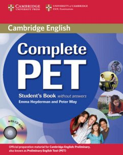 Complete PET - Student's Book without answers, w. CD-ROM