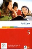 Red Line 5. Workbook mit Audio-CD und Lernsoftware