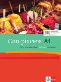 Con piacere / Lehr- und Arbeitsbuch mit 2 Audio-CDs A1