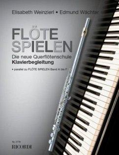 Flöte spielen, Klavierbegleitung