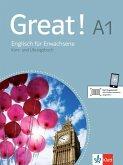 Great! Lehr- und Arbeitsbuch mit 2 Audio-CDs A1