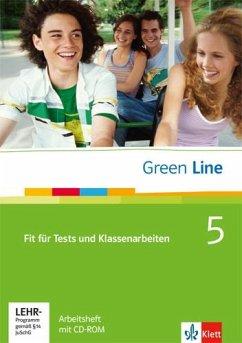 Green Line 5. Fit für Tests und Klassenarbeiten. Arbeitsheft und CD-ROM mit Lösungsheft - Horner, Marion