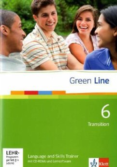 Green Line 6. Language and Skills Trainer mit CD-ROM und Lernsoftware Band 6 (10. Klasse) Bd.6
