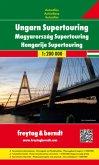 Freytag & Berndt Atlas Ungarn Supertouring; Magyarország Supertouring; Hongarije Supertouring