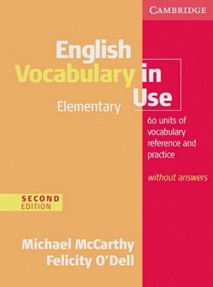 english vocabulary in use elementary second edition pdf