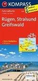 Kompass Fahrradkarte Rügen, Stralsund, Greifswald / Kompass Fahrradkarten