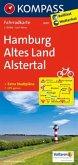 Kompass Fahrradkarte Hamburg, Altes Land, Alstertal / Kompass Fahrradkarten