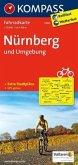 Kompass Fahrradkarte Nürnberg und Umgebung / Kompass Fahrradkarten