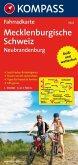 Kompass Fahrradkarte Mecklenburgische Schweiz, Neubrandenburg