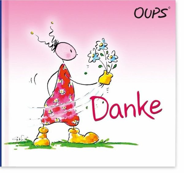Oups Minibuch - Danke - Hörtenhuber, Kurt