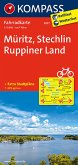 Kompass Fahrradkarte Müritz, Stechlin, Ruppiner Land / Kompass Fahrradkarten