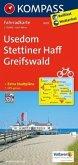 Kompass Fahrradkarte Usedom, Stettiner Haff, Greifswald / Kompass Fahrradkarten