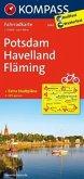 Kompass Fahrradkarte Potsdam, Havelland, Fläming / Kompass Fahrradkarten