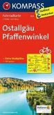 KOMPASS Fahrradkarte Ostallgäu - Pfaffenwinkel / Kompass Fahrradkarten
