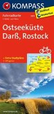 Kompass Fahrradkarte Ostseeküste, Darß, Rostock / Kompass Fahrradkarten
