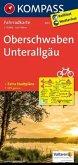 Kompass Fahrradkarte Oberschwaben, Unterallgäu / Kompass Fahrradkarten