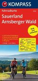 KOMPASS Fahrradkarte Sauerland - Arnsberger Wald / Kompass Fahrradkarten