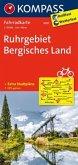 Kompass Fahrradkarte Ruhrgebiet, Bergisches Land / Kompass Fahrradkarten