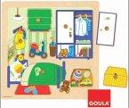 Jumbo Spiele - 53034 - Holzpuzzle Kinderzimmer