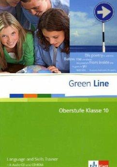 Green Line Oberstufe. Klasse 10. Language and Skills Trainer mit Audio-CD und CD-ROM - Horner, Marion