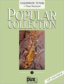 Popular Collection, Saxophone Tenor + Piano/Keyboard