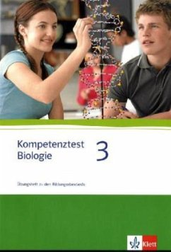 Kompetenztest Biologie 3. Mit Lösungsheft - Seitz, Hans J