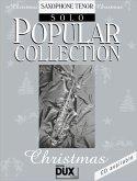 Popular Collection, Christmas, Saxophone Tenor Solo