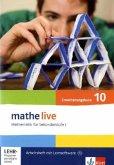 mathe live. Arbeitsheft mit Lösungsheft und Lernsoftware Erweiterungskurs 10. Schuljahr. Allgemeine Ausgabe