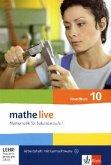 mathe live. Arbeitsheft mit Lösungsheft und Lernsoftware Grundkurs 10. Schuljahr. Allgemeine Ausgabe