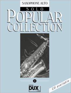 Popular Collection 3. Saxophone Alto Solo