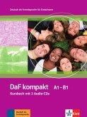 DaF kompakt / Lehrbuch mit 2 Audio-CDs (A1-B1)