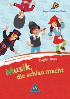 English Raps, 2 Audio-CDs / Junge Dichter und D...