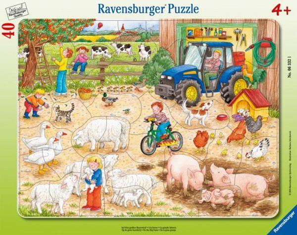 Puzzles Kleiner Flugplatz Puzzle mit 40 Teilen Rahmenpuzzle ab 4 Jahren Spiel Deutsch
