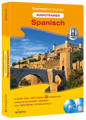 audiotrainer expresswortschatz spanisch mit begleitheft h rbuch. Black Bedroom Furniture Sets. Home Design Ideas