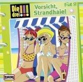 Vorsicht, Strandhaie! / Die drei Ausrufezeichen Bd.8 (1 Audio-CD)