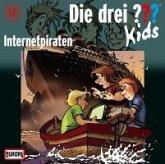 Internetpiraten / Die drei Fragezeichen-Kids Bd.12 (1 Audio-CD)
